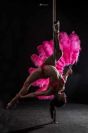 Cyd Sailor Hélène Douay Closed Inside Feather fan